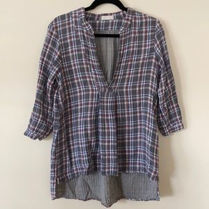 CP Shades Flannel Blouse